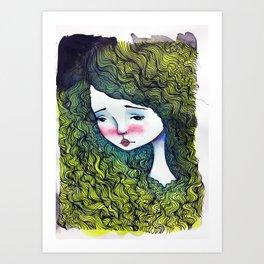 Lucrezia Art Print