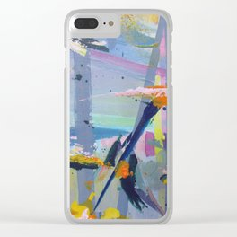 Miami detail Clear iPhone Case