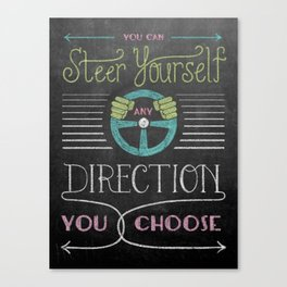 Steer Yourself Canvas Print