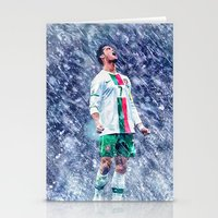 ronaldo Stationery Cards featuring Cr7 Ronaldo by Cr7izbest