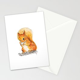 Squirrel Nutkin Peter Rabbit  Beatrix Potter Stationery Cards