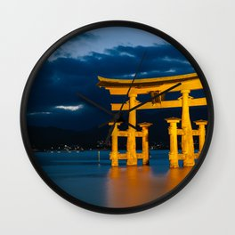 Itsukushima Shrine Wall Clock
