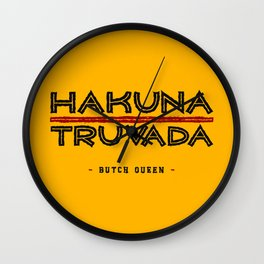 BQ - Hakuna Truvada Wall Clock