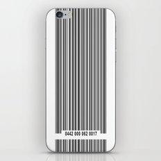 Barcode 1 iPhone & iPod Skin