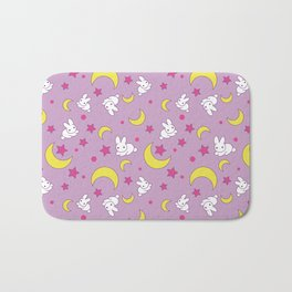 Moon Rabbits Bath Mat