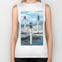 cigarettes Biker Tanks featuring cigarettes by •ntpl•