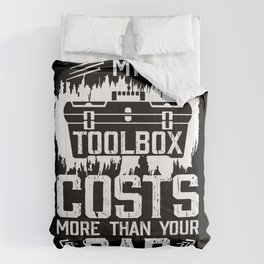 My Toolbox Costs More Than Your Car Comforters