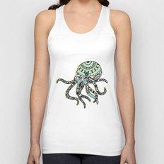 Octopus Unisex Tank Top