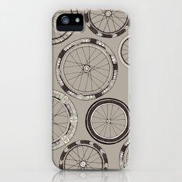 bike wheels stone iPhone Case