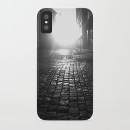 Late night, early morning iPhone Case