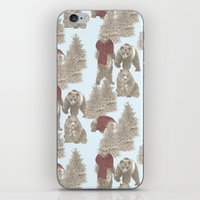 bears iPhone & iPod Skins featuring Bears  by Ellie Price
