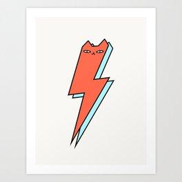 Thunder Cat Art Print