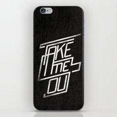 Take me Out iPhone & iPod Skin