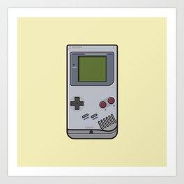 #44 Nintendo Gameboy Art Print