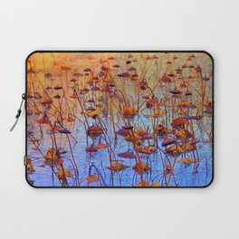 Dead Lotus Flower Laptop Sleeve