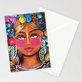 Sol-Original Painting- Zeli Rodriguez Stationery Cards