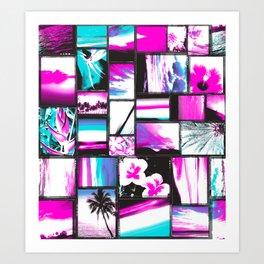 sweet sunner Art Print