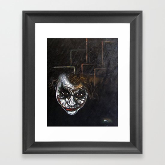 """""""Joker"""" Framed Art Print"""