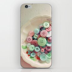 Bowl of Buttons iPhone & iPod Skin