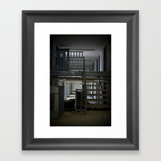 Abandoned Prison, No Walkers  Framed Art Print
