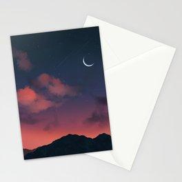 Aesthetic Sunset Stationery Cards