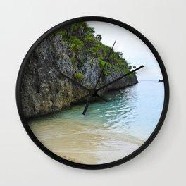 Quiet Lagoon Wall Clock