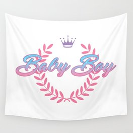 baby boy Wall Tapestry