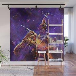 ALTERED Hubble Mystic Mountain- Carina Nebula Wall Mural