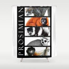 Lemurs of Madagascar Shower Curtain
