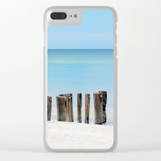 Leading to the Water Clear iPhone Case