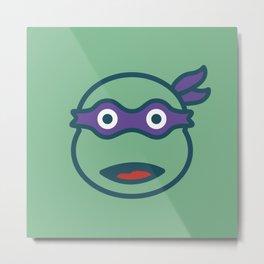 Donatello TMNT Metal Print