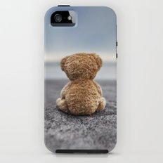 Teddy Blue iPhone (5, 5s) Tough Case