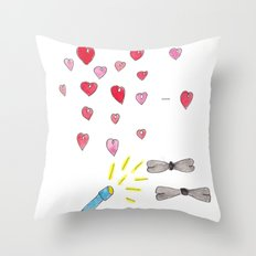 GETTING FANCY! Throw Pillow