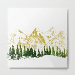 mountain # 8 Metal Print