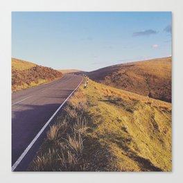 Mountain Road, TT Isle of Man. Canvas Print