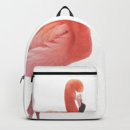 FLAMINGO IN THE SNOW Backpack