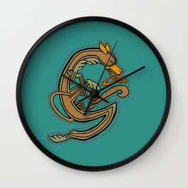 Celtic Hound Letter G 2018 Wall Clock