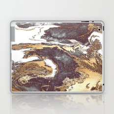 Black White Gold Laptop & iPad Skin
