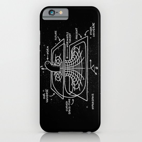 Cosmic Wormhole iPhone & iPod Case