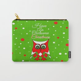 Have An Owlsome Christmas Carry-All Pouch