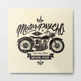 Motorpsycho Metal Print