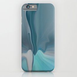 Melting Sea Glass Abstract iPhone Case