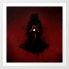 Red Riding Hood Art Print