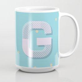 G is for Glamorous Coffee Mug