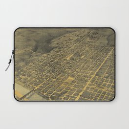 Vintage Pictorial Map of Austin Texas (1887) Laptop Sleeve