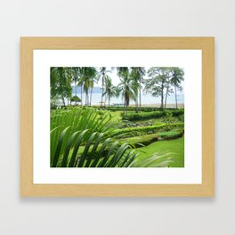 Los Suenos at Herradura Beach Framed Art Print