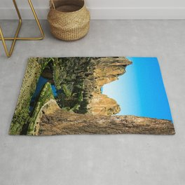 Rocks + River // Hiking Mountains Colorado Scenic View Landscape Photography Forest Backpacking Vibe Rug