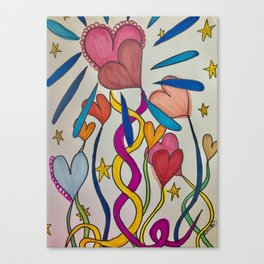 Hold Me In Love Canvas Print
