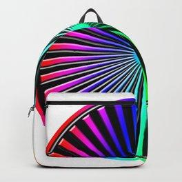 Rainbow Rays Design Backpack