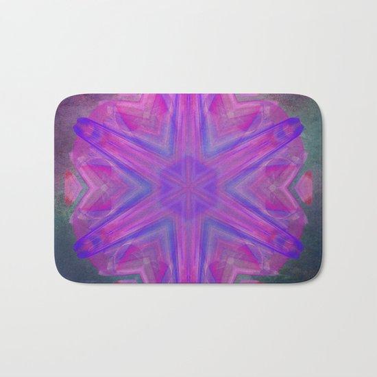 Jeweled splendor in vibrant pink Bath Mat